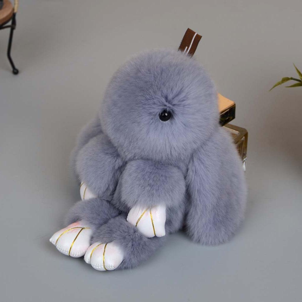 13cm Keychain Baby Kids Rabbit Doll Chains gift