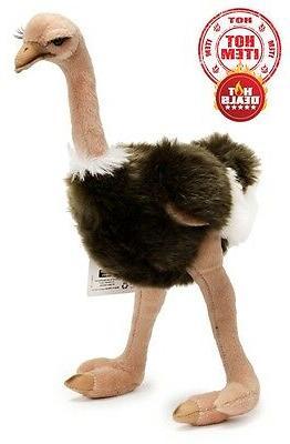 """14"""" Baby Ostrich Plush Soft Toy Cuddly Teddy Adorable Cute D"""