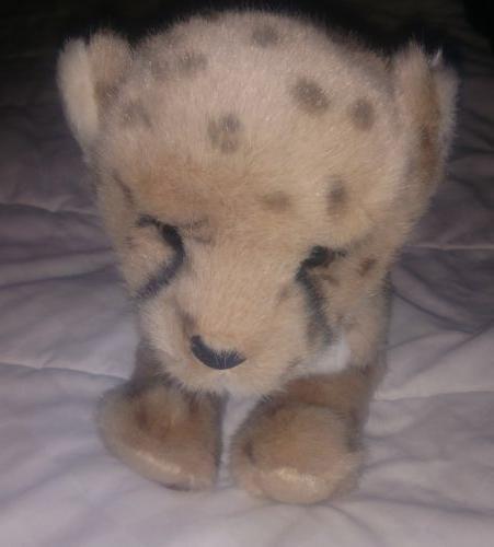 14 Inch Chillin' Cheetah Cub Plush Stuffed Animal by Douglas