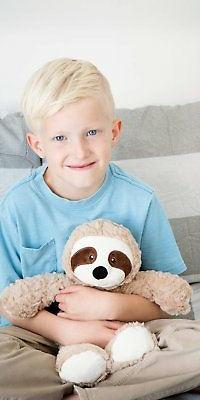 "The Petting Zoo - 14"" Soft Brown Snugglerz Sloth - Kids/Chil"
