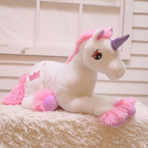 16''Cute Unicorn Plush Stuffed Animal Doll Lovely Cartoon To