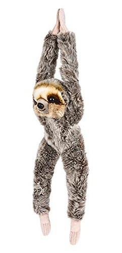 "Wildlife Tree 18"" Hanging Sloth Stuffed Animal Plush Heirloo"