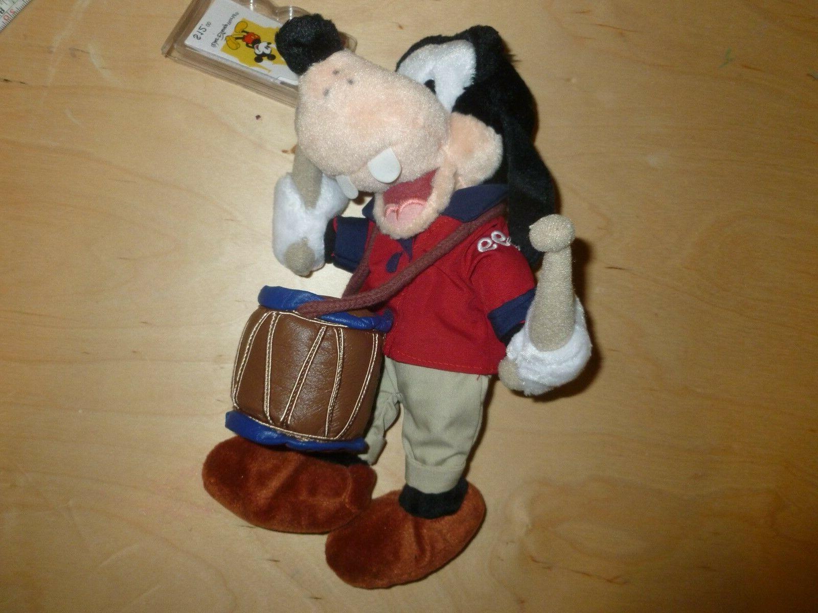 1999 Disney July Drum Bean Stuffed Animal NWT