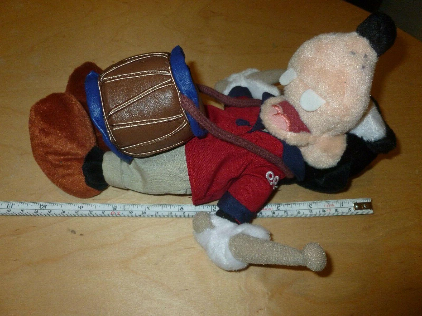 "1999 Disney 4th of July GOOFY Drum Bean Plush Stuffed 9"" NWT"