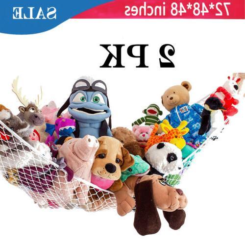 1PK Hammock Toy Net Organizer Corner Stuffed Animals and Kid