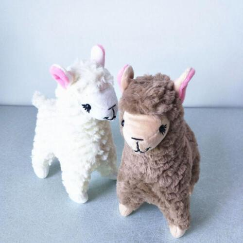 2 Cute Alpaca Stuffed Animals Soft
