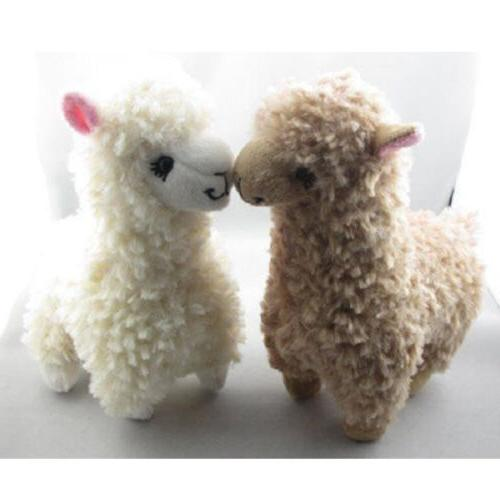 2 pcs Cute Alpaca Stuffed Soft
