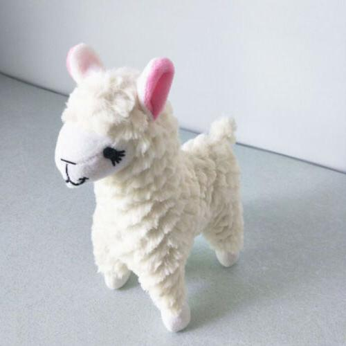 2 pcs Fad Alpaca Stuffed Animals Soft Kids