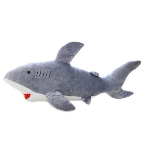 "20"" Shark Soft Cuddly Plush Stuffed Hot"