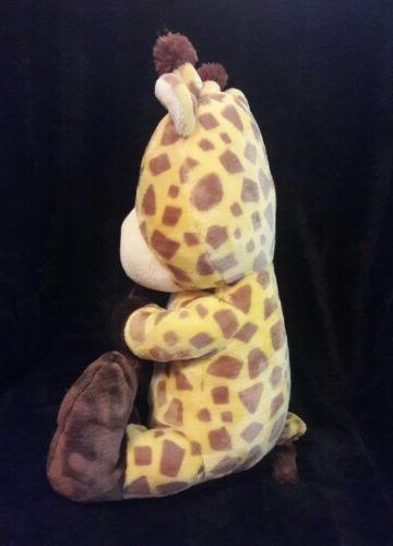 ANIMAL brown yellow plush animal NWT
