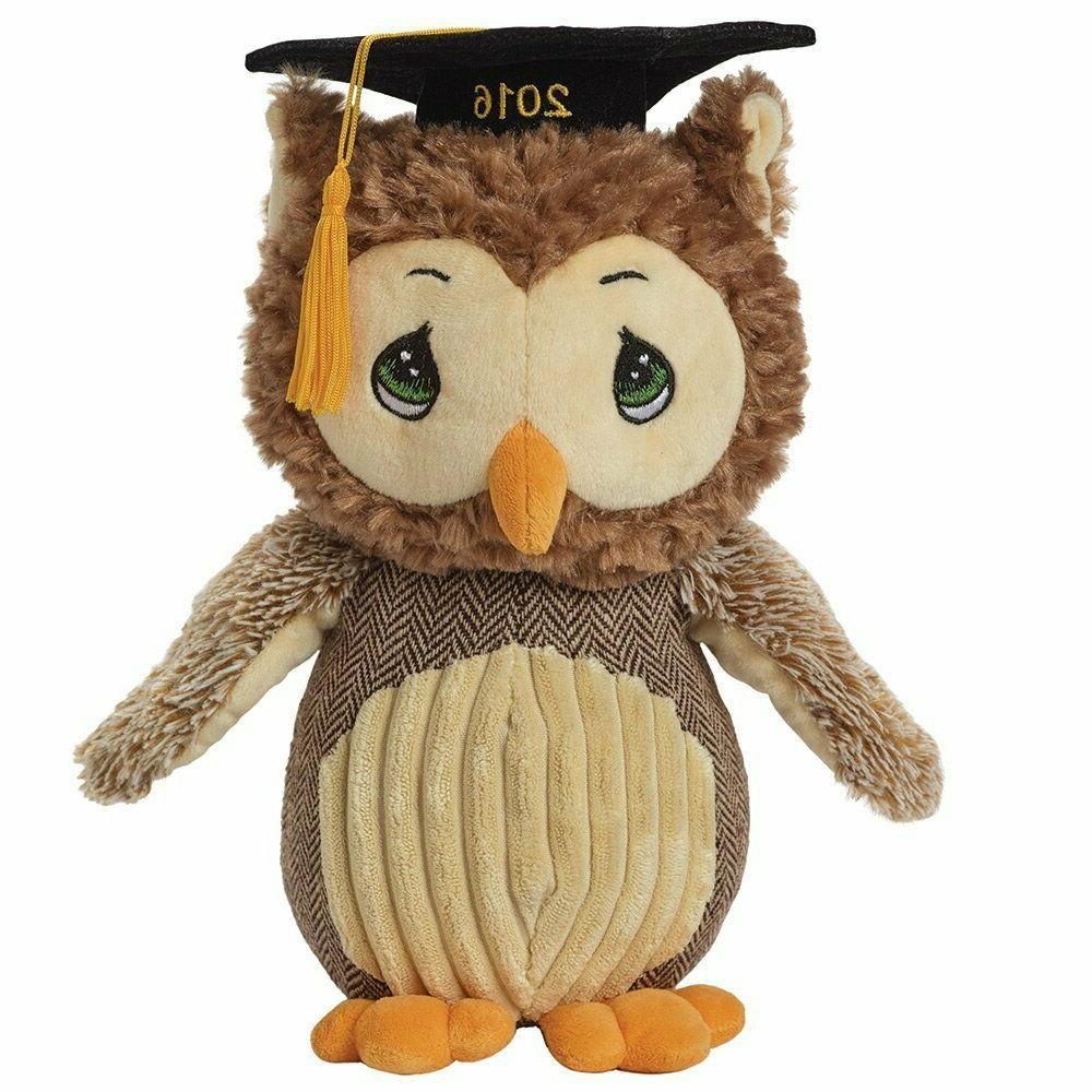 2016 dated look whoos graduating stuffed animal
