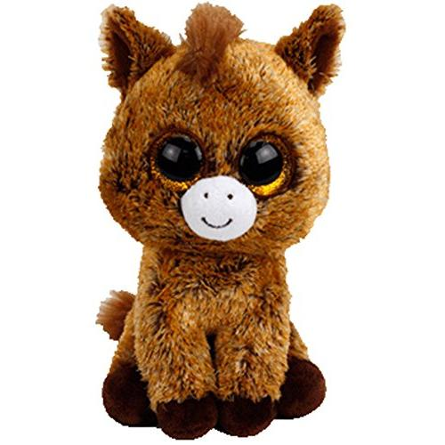 """New 2017 Ty Beanie Boos HARRIET the Horse 6"""" size IN HAND!!!"""