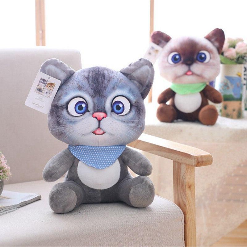 20cm Simulation Double-side Sofa Cushion Kawaii Cat Toys