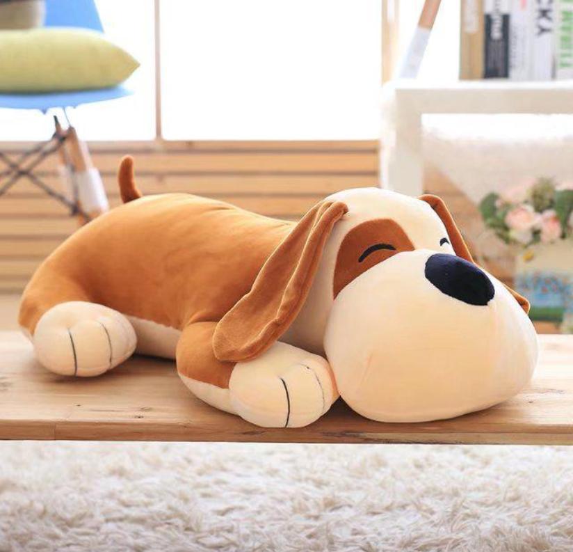 20inch Large Cute Dog Stuffed Animals Soft Plush Doll Pillow