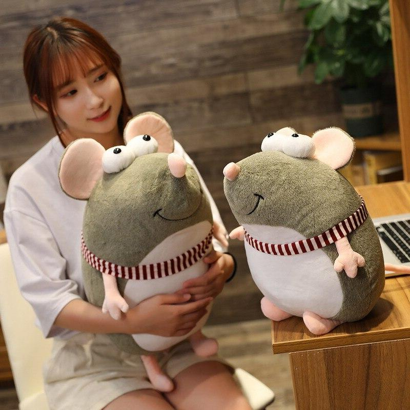21cm Kawaii Plush <font><b>Eyes</b></font> Toy <font><b>Animal</b></font> Doll Baby Children Gift Home Peluche Mascots