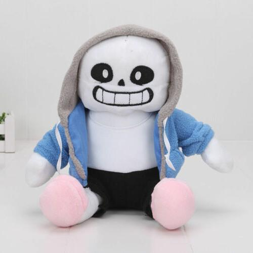 Undertale Sans Plush Stuffed Doll 8.5'' Hugger Cushion Cospl