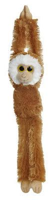 "24"" Aurora World Natural Hanging Monkey Plush Animal - Mediu"