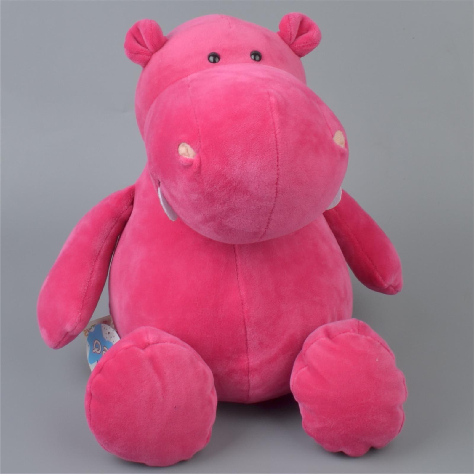 25 40 cm White pink Classic <font><b>zoo</b></font> <font><b>Stuffed</b></font> Kids Shipping