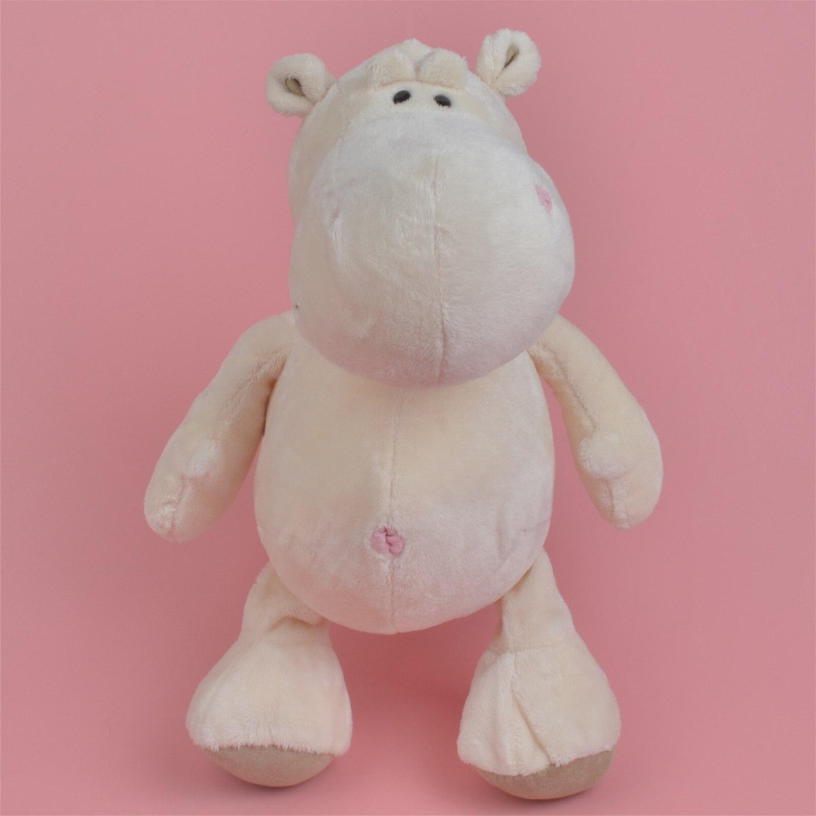 25 cm- 40 White <font><b>zoo</b></font> jungle <font><b>Stuffed</b></font> Plush Kids Doll Shipping