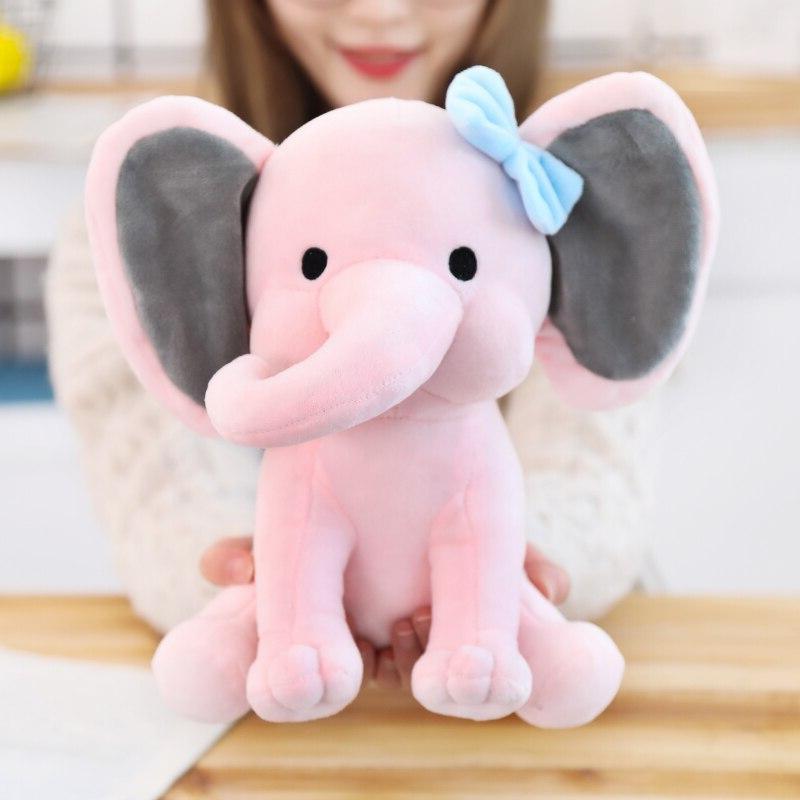 25cm <font><b>Bedtime</b></font> <font><b>Originals</b></font> Choo Choo Toys Elephant Animal Kid Gift