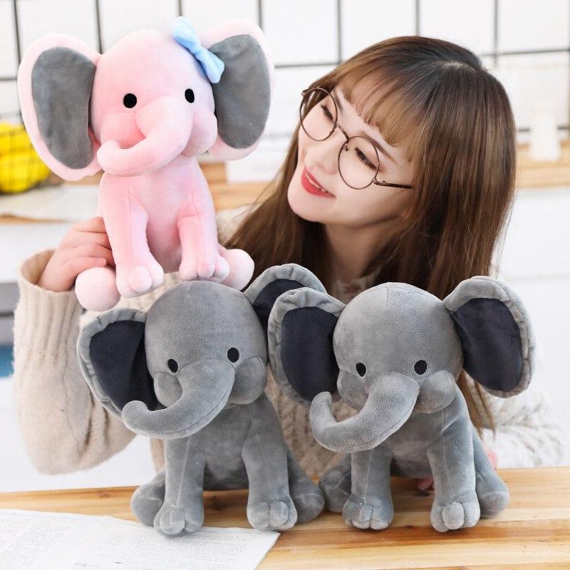 25cm Choo Plush Elephant Animal Kid Gift