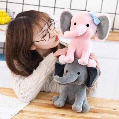 25cm Choo <font><b>Plush</b></font> <font><b>Toys</b></font> Elephant <font><b>Plush</b></font> for Kids Birthday Gift