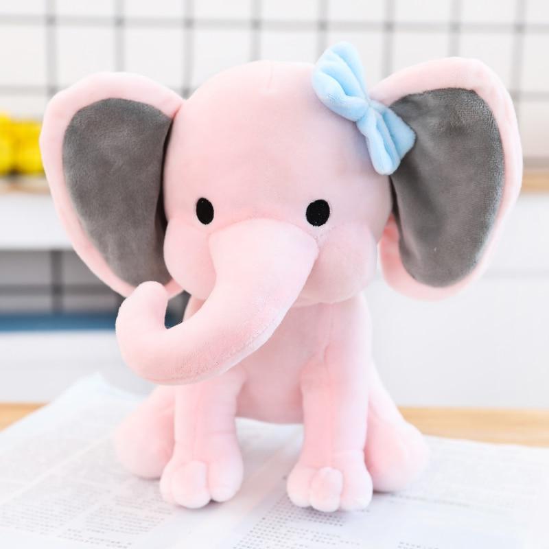 25cm Elephant Toy Kids <font><b>Originals</b></font> Choo Choo Express Elephant Stuffed Animal Doll