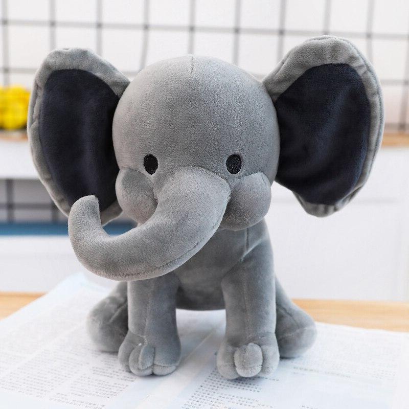 25cm <font><b>Bedtime</b></font> <font><b>Originals</b></font> Choo Choo Express Elephant Humphrey Soft Animal Kid Gift