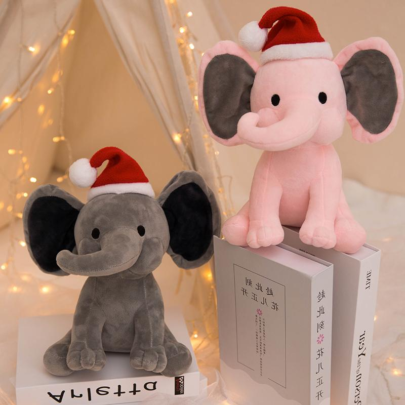 25cm plush elephant toy kids christmas toys