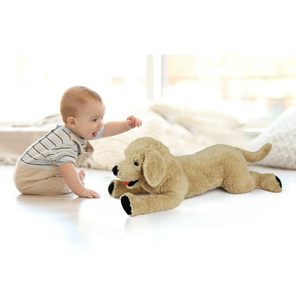 27'' Large Stuffed Animals Baby Kids Child Gifts Puppy Doll