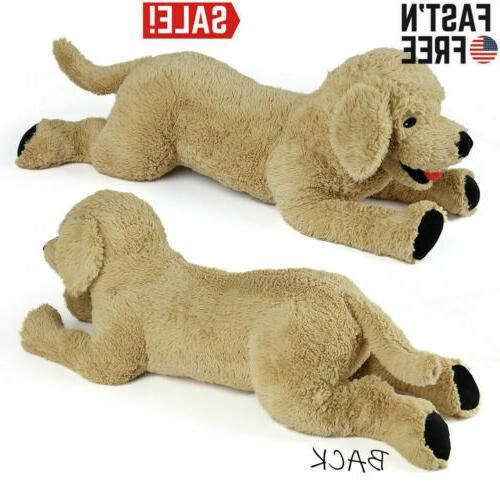 27 large golden retriever stuffed plush animal