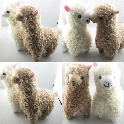 2x Cute Plush Toy Height Camel Animal