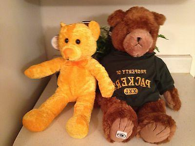 3 childrens stuffed bears for girls