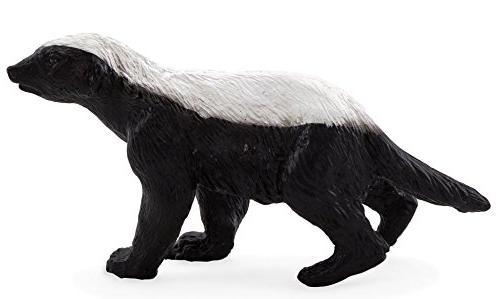 Mojo Animal Planet Honey Badger mâle solide Jouet en plastique WILD ZOO NOUVEAU