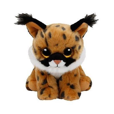 Ty Beanie Boos 41205 Larry Lynx Beanie Babies 8 Inch-Stuffed