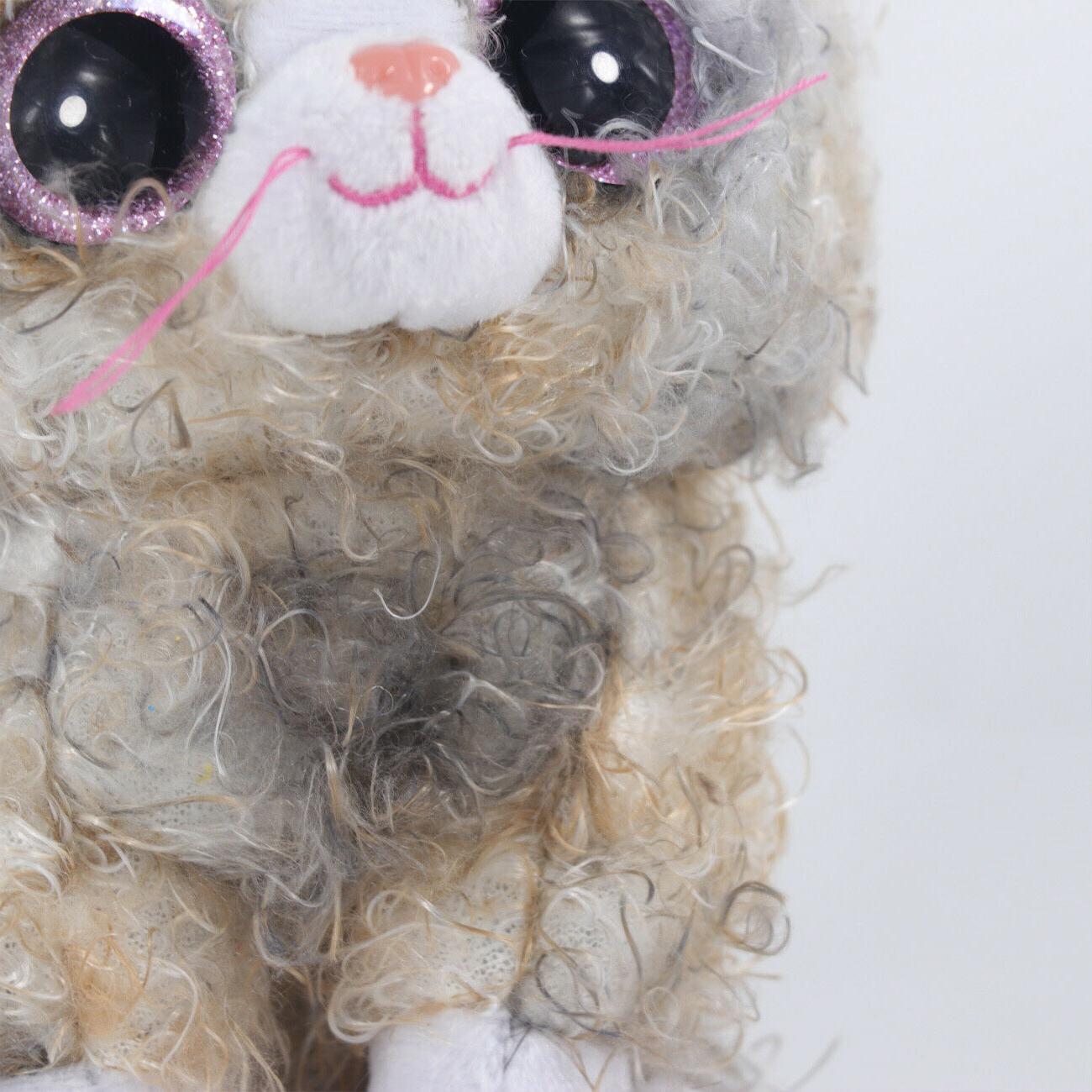 "6"" TY Boos Glitter Animals Kids Curly"