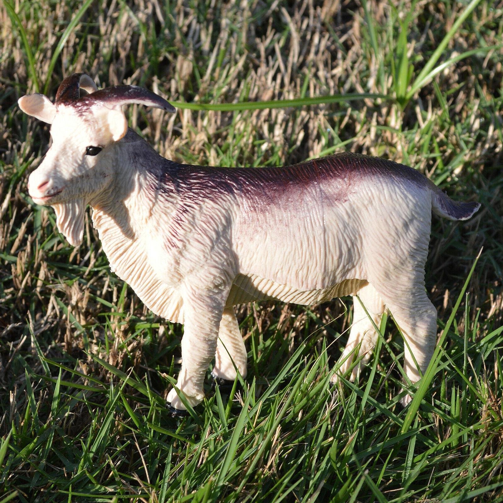 6 Educational Farm Animals Donkey Cow Sheep Goat