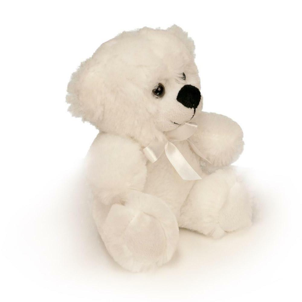 """6"""" White Bear Animal"""