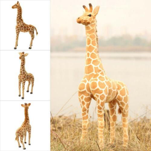 60CM Boys Girl Plush Giraffe Doll Giant Large Stuffed Animal
