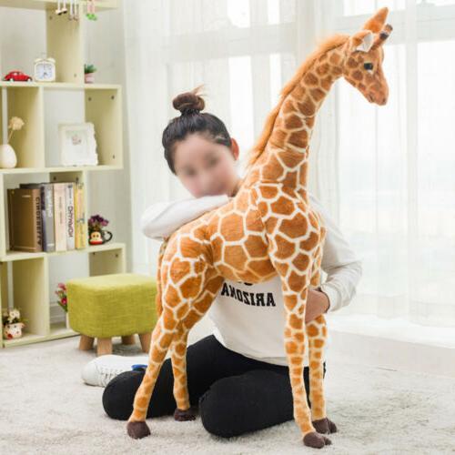 60CM Giraffe Doll Large Stuffed Toys Gift UK Seller DL5