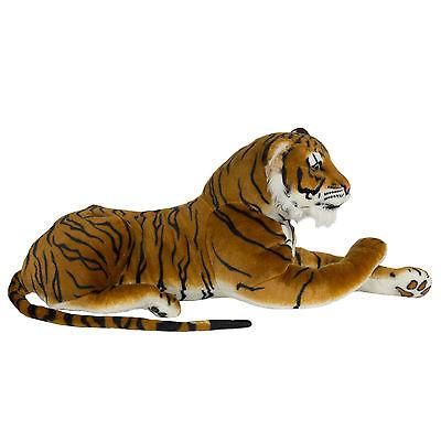 Large Tiger Realistic Bengal Toy Pillow