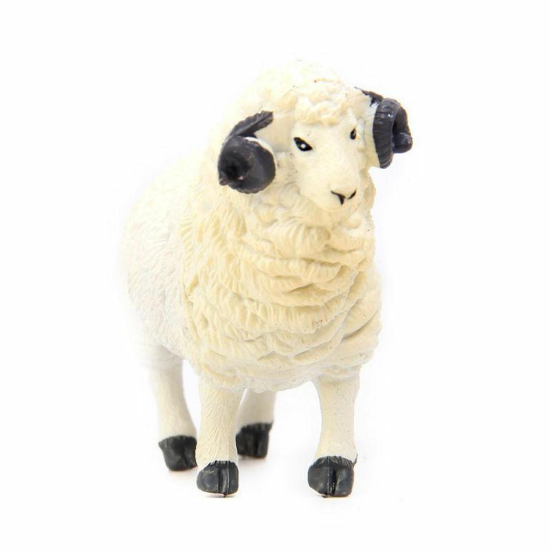 6Pcs Kids Action Figure Pig Dog Cow Sheep Horse