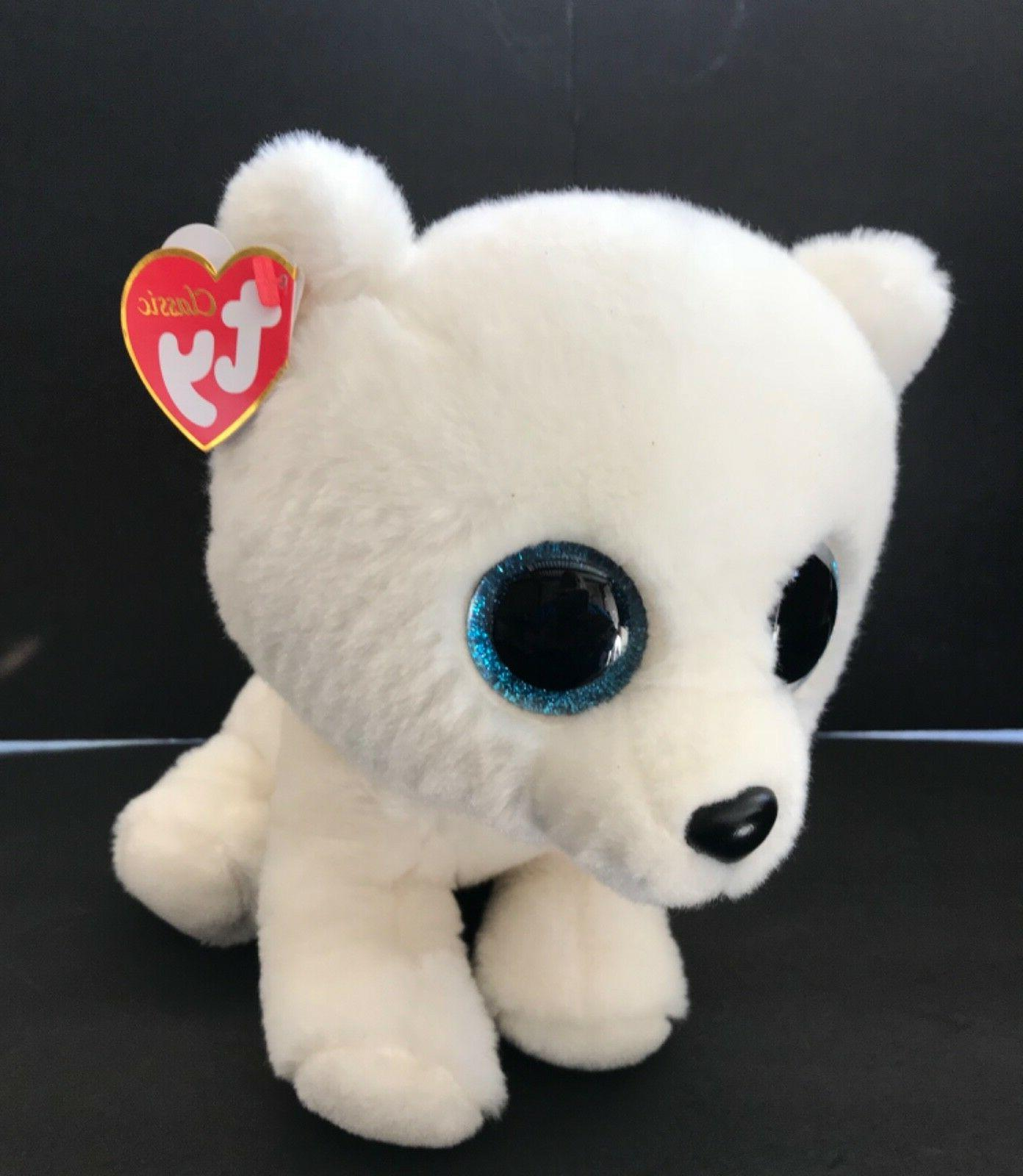 "7"" Blue Bear Plush Stuffed"