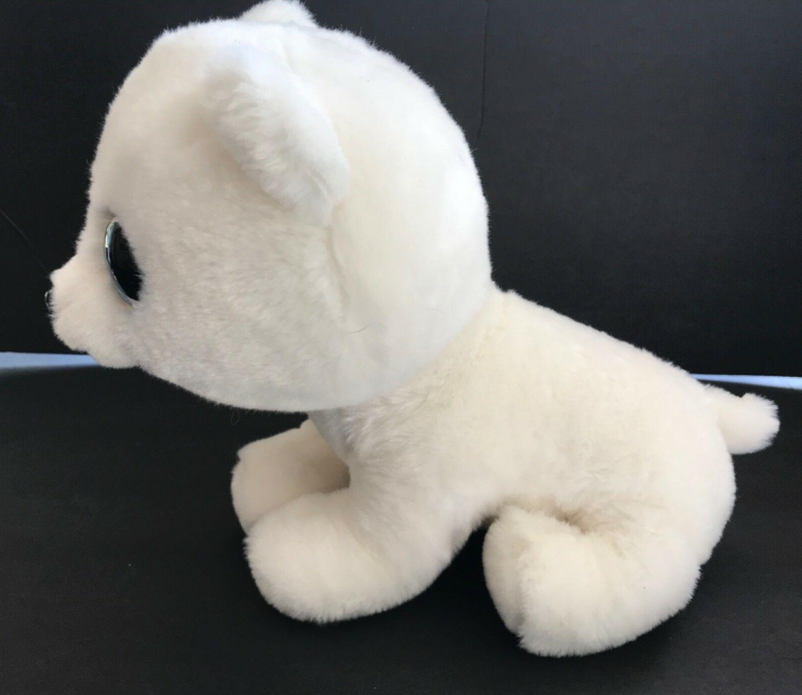 "7"" Ty Artic Blue Eyes Bear Plush Animal"