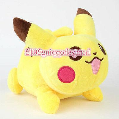 """7"""" Pokemon Pikachu Plush Stuffed Animals Dolls Kids Baby Tod"""