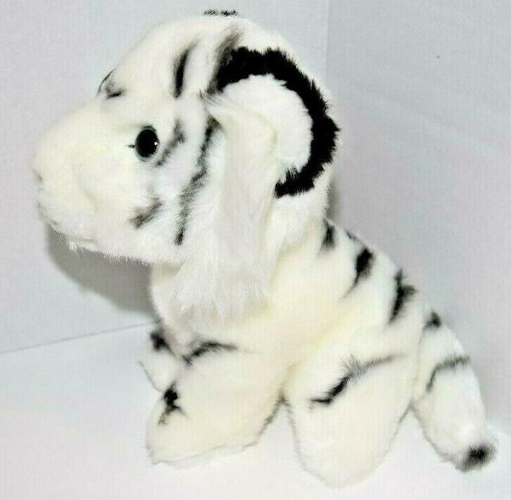 "7"" White Tiger Plush Stuffed Jungle"
