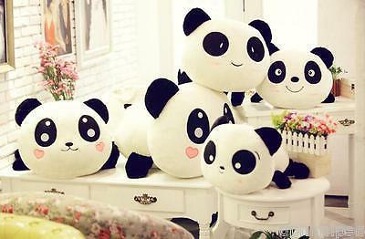 "8"" Plush Toy Stuffed Animal Panda Pillow Quality 20cm"