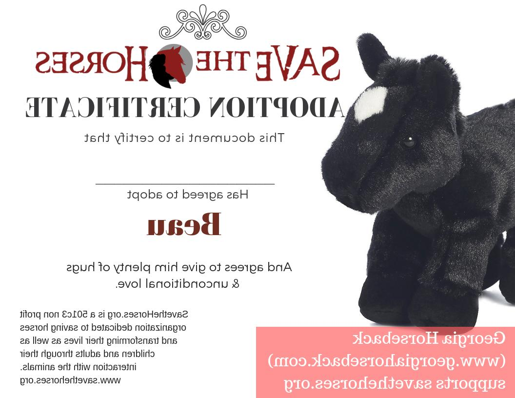 8 Inch Mini Flopsie Black Animal by