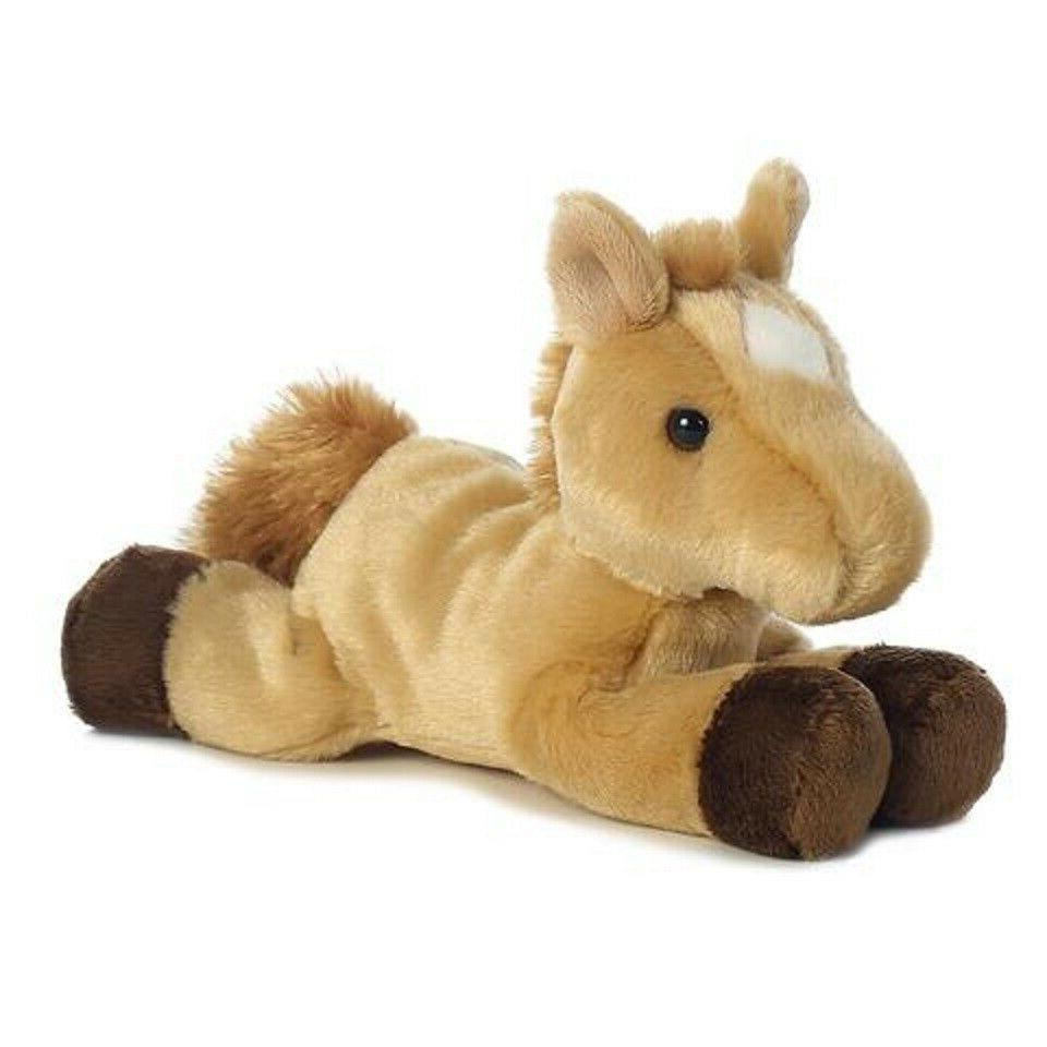 Horse Plush Animal by Aurora Certificate
