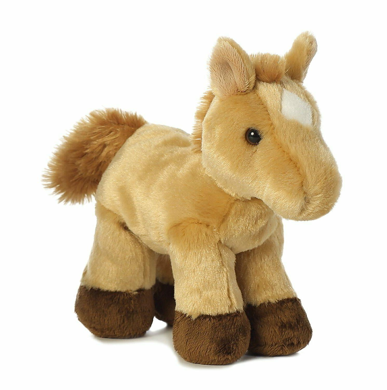 8 inch mini flopsie horse plush stuffed